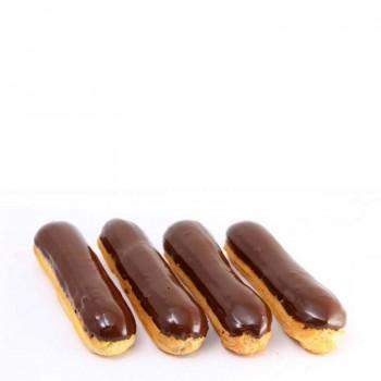 Эклеры с заварным шоколадным кремом