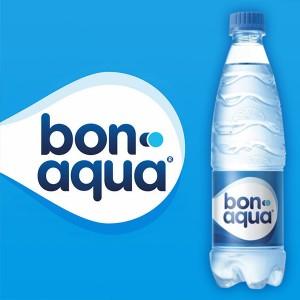 Bon-aqua газ/без газа 0.5 л