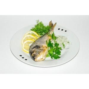 Рыба Дорадо на углях