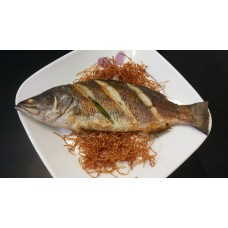 Сибас (Sea Bass) на углях